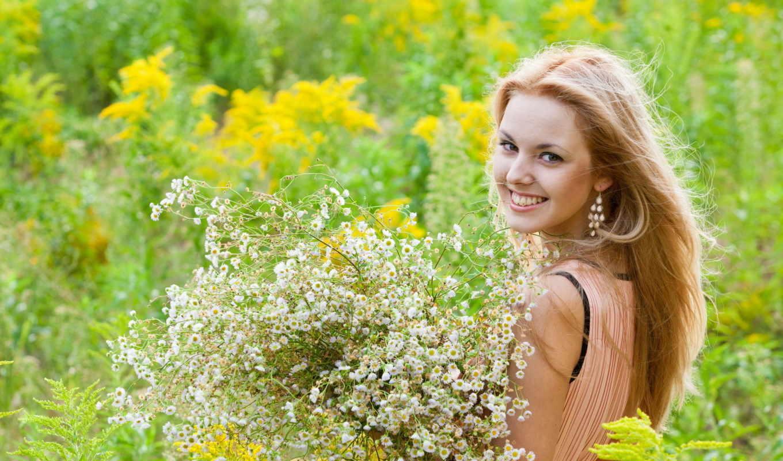 цветы, девушка, summer, настроение, devushki,