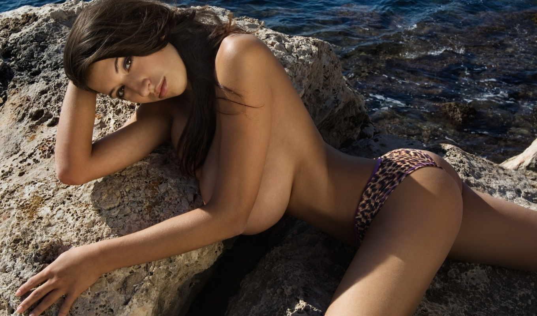 defi, jana, модель, грудь, water,