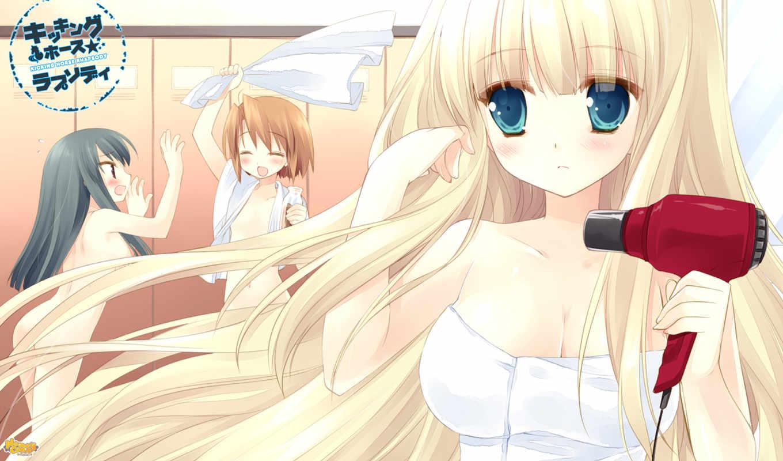 anime, manga, girls,