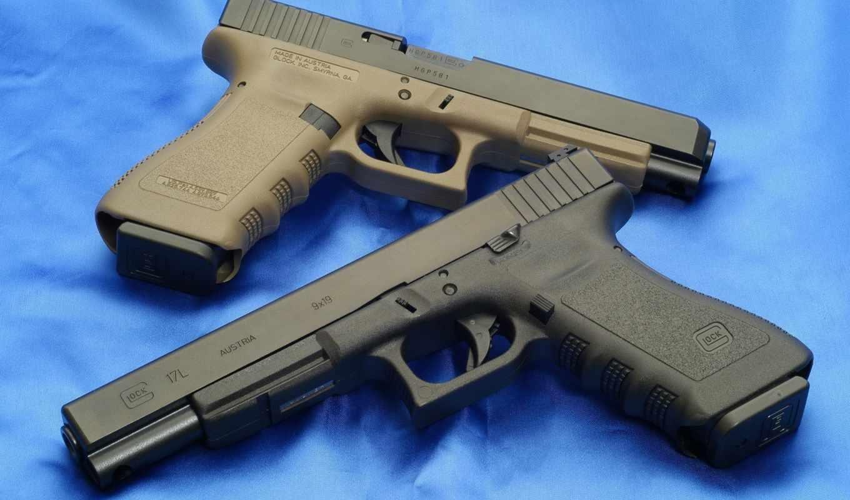 оружие, пистолет, глок,
