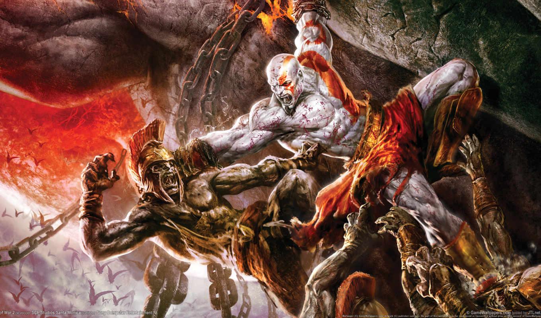god, war, игры, войны, kratos, битва, game, video, games,