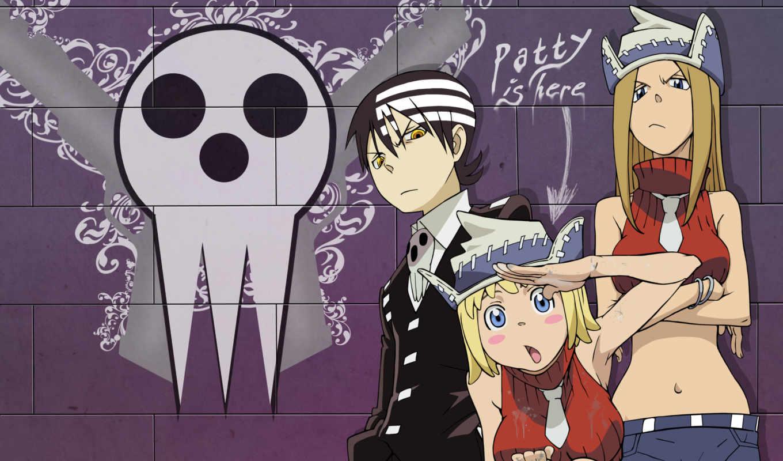 eater, soul, death, anime, kid, душ, thompson, image,
