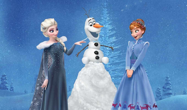 frozen, adventure, анна, olaf, elsa, когда, эльза, вместе, холодное,
