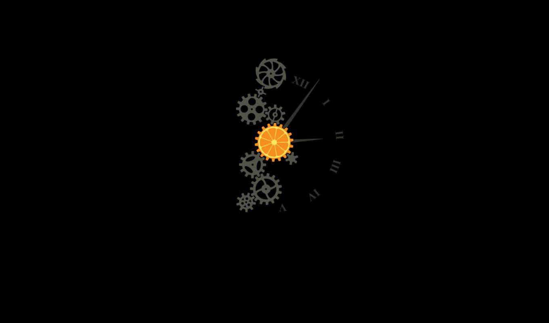 время, циферблат, шестеренки, часы, чёрный, зубцы, стрелки, механизм, picture, эротику, картинка, показывать, картинку, hd, кнопкой, правой, wallpaper, clockwork, en, orange,