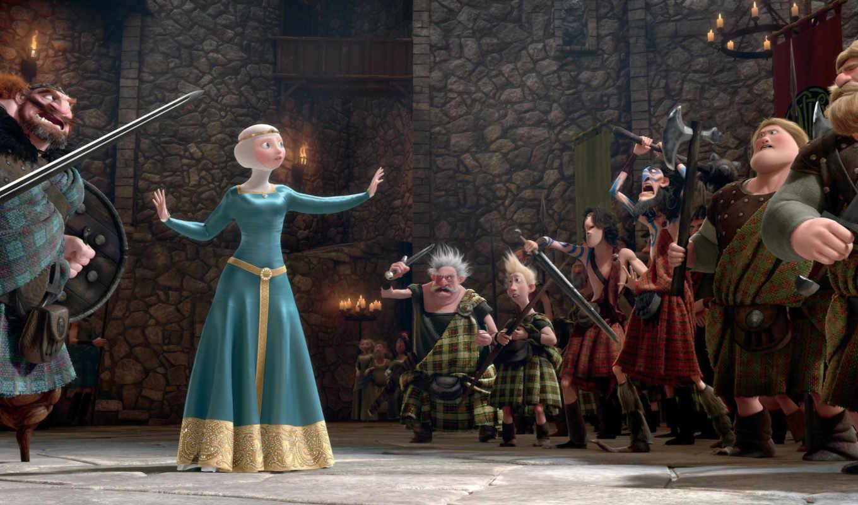 сердцем, храбрая, merida, принцесса, brave, cartoon, шотландия, июнь, pixar, пиксар, disney,
