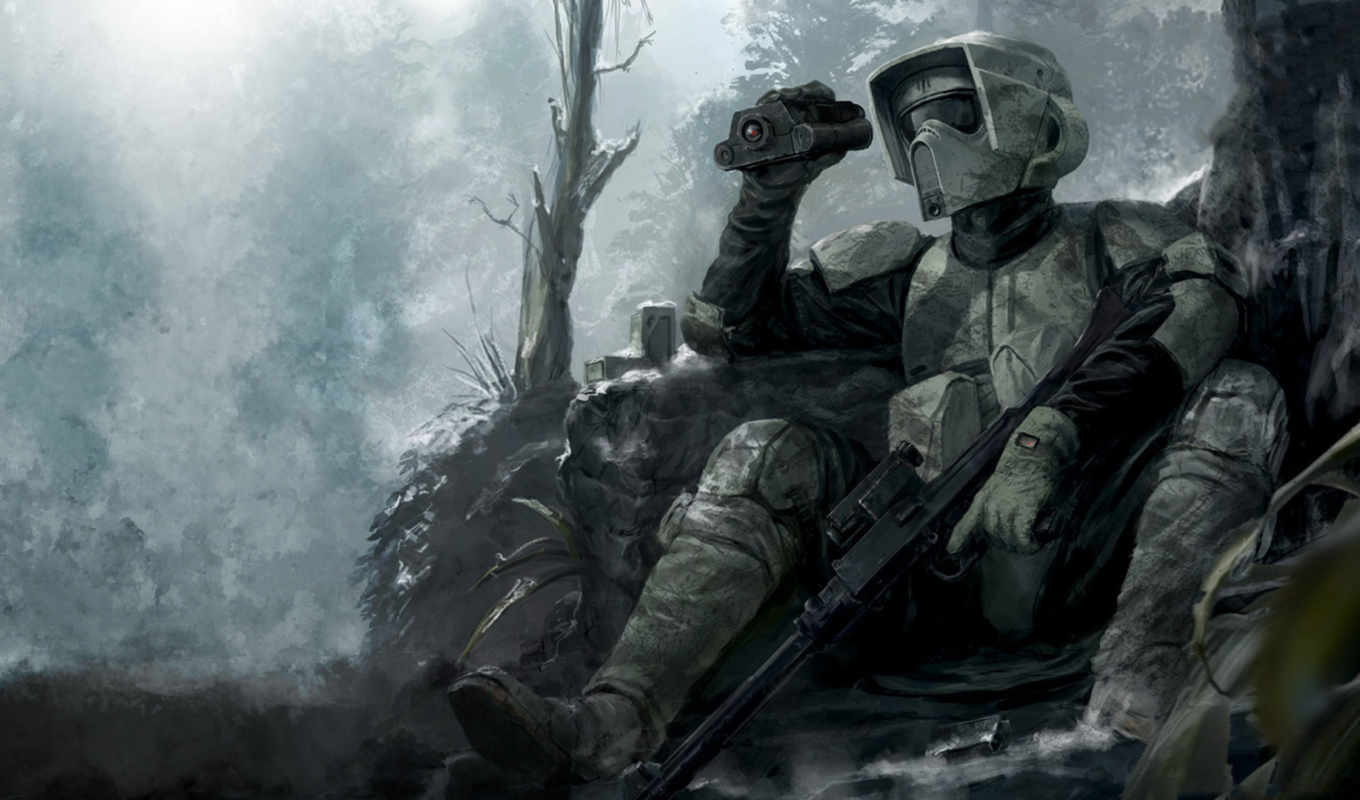 scout, trooper, the, star, and, wars, quot, art, w