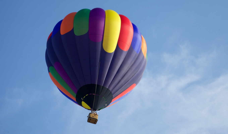 полет, шар, воздушный, спорт, para, parede, página, foto, desktop,