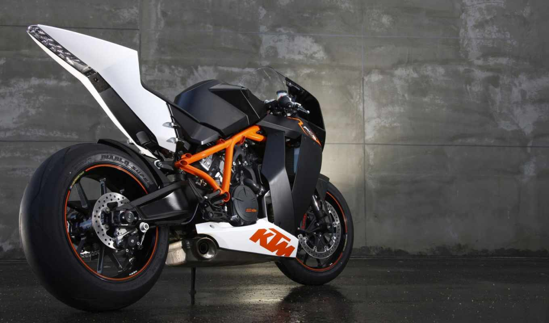 ktm, 1190 rc8, 2009, КТМ, Спортбайк, Мотоцикл, Мото, Австрия, Оранжевый