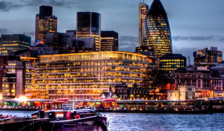 london, река, здания, англия, город, великобритания, thames,