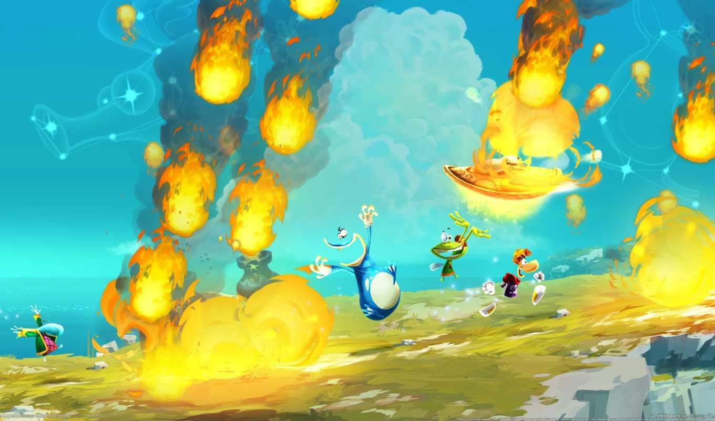 Скачать Обои На Телефон Rayman Origins