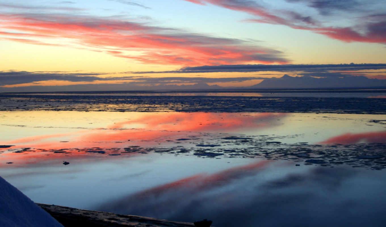 candyfloss, desktop, природа, sunset, skyscapes, sea, изображение,