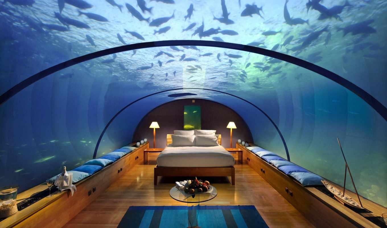 hotel, остров, maldives, conrad, rangali, best, самый, мире, hyundai, resort,