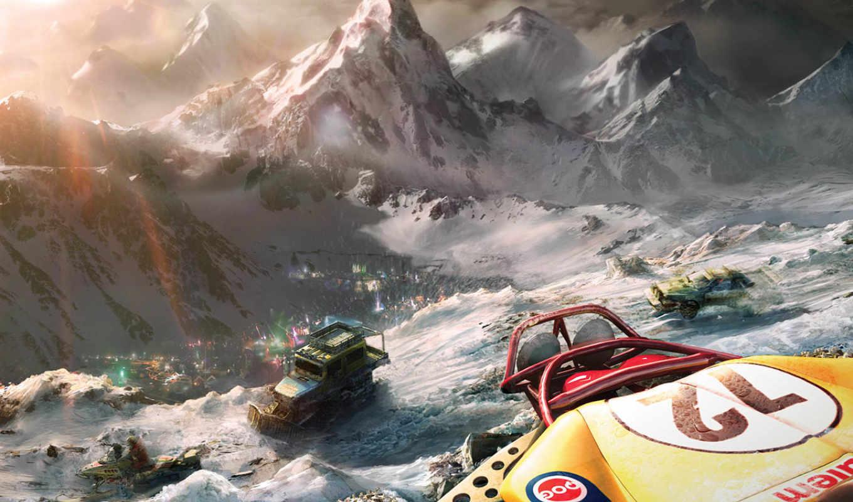 motorstorm, arctic, edge, games, psp,
