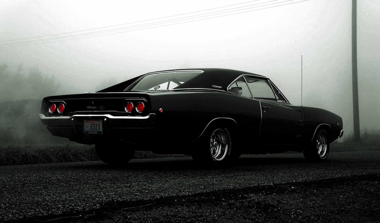 dodge, charger, black, car, об,