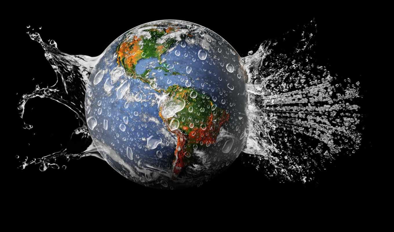 water, land, planet, земле, нашей, планеты, день, очень, роль, cosmos, she,