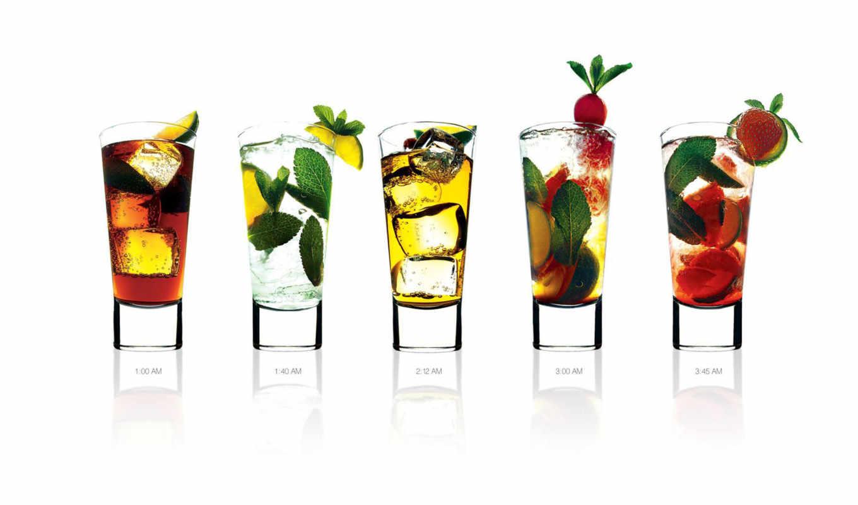 стаканы, фрукты, светлые,скачать