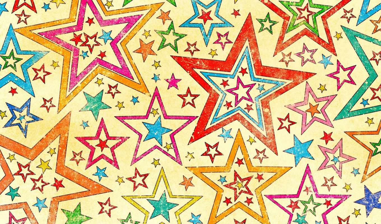 звёзды, background, wallpaper, разноцветные, stars, texture, style, star, best, net, five, pointed, abstract, hintergrundbilder, текстуры, download,