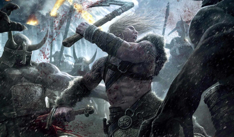 viking, игры, battle, asgard, игра, games, картинка, компьютерные, видео, эпизод, metal, creative,
