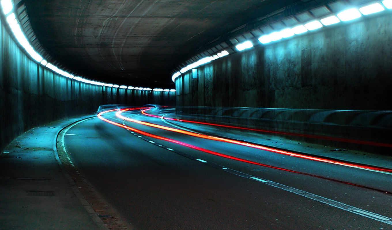 огни, красивый, картинок, прикольные, смотри, эти, подборка, туннель, funny,