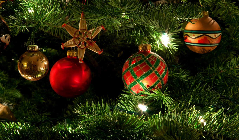 дерево, новогодние, ios, new, год, игрушки, праздник,