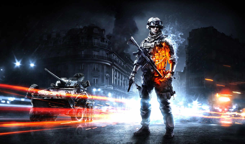 battlefield, солдат, техника, игры, оружие, game,