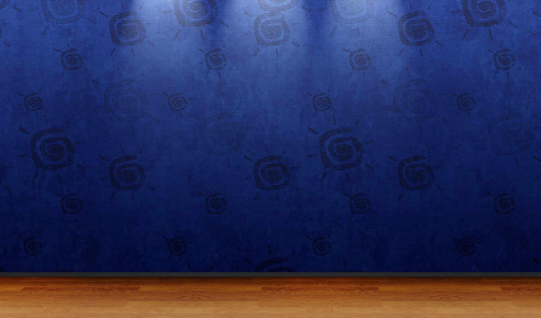 wallpaper, hd, blue, room, view, зарегистрироваться, minimalistic,