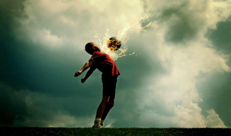 мальчик, огненным, мячом, background, apple, изображения, поделиться, вернуться, desktop, fire, sport, photos,