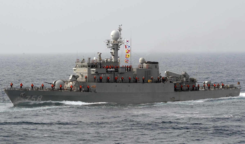 флот, корабль, море, учение, боевой,