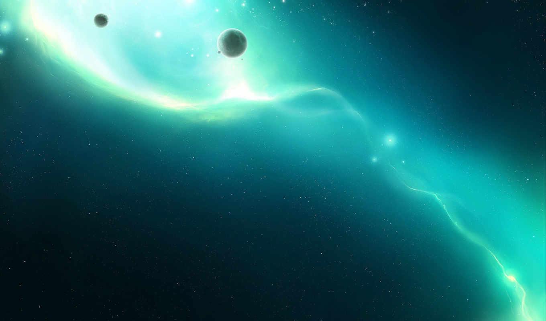 planets, space, outer, звезды, normal, oscillate, ethereal, свечение, light, планеты, stars, views, смотрите, art,