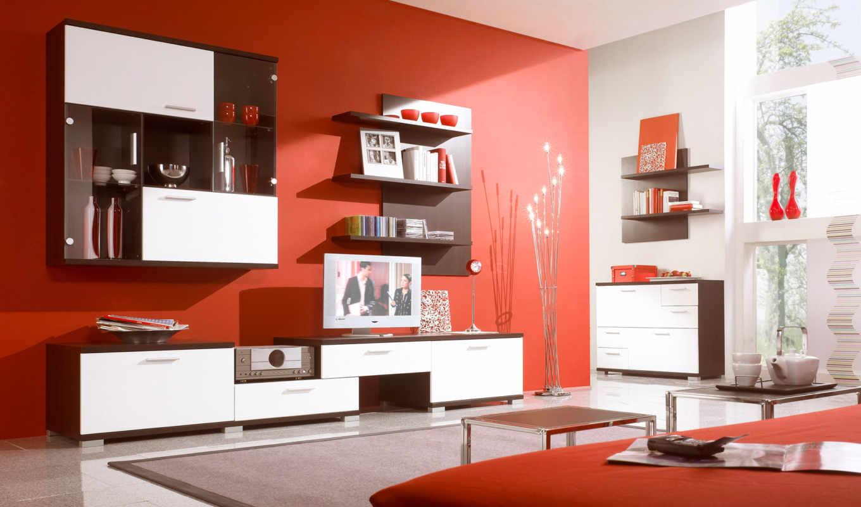 мебель, гостиной, спальни, гостиную, дизайн, комнаты,