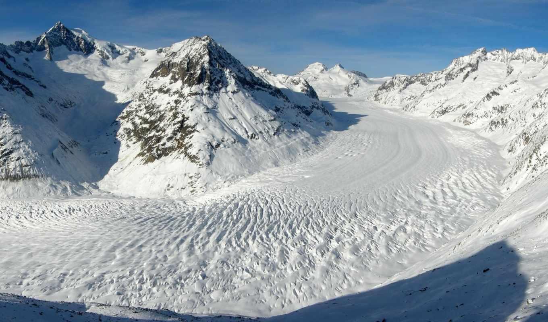 winter, горах, горы, природа, снег,