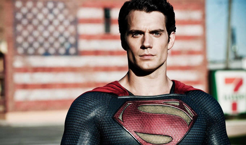мужчина, стальной, that, henry, американский, superman, cavill, ан,