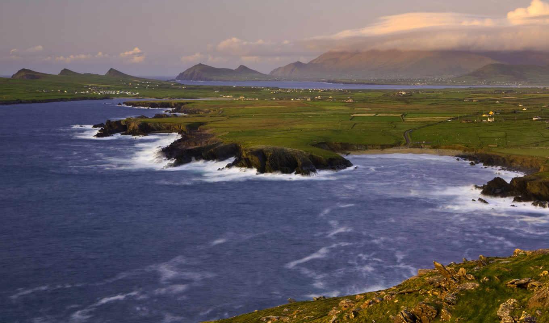 farms, море, побережье, irel, magical, скалы,