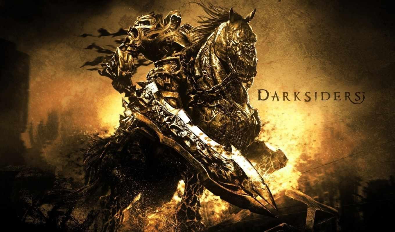 darksiders, video, wrath, war, очень,