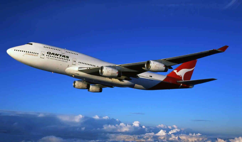 qantas, boeing, aircraft, авиалинии, боинг, австралийские, лайнер, airlines, australian,