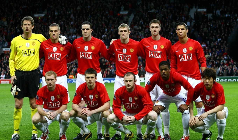 united, manchester, клуб, юнайтед, team, футбольный, картинку, download, футболисты,