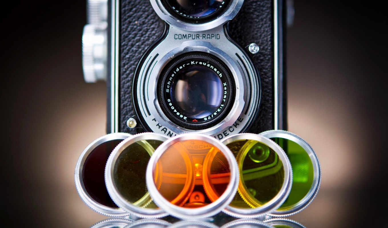 широкоформатные, رنگ, фотокамеры,