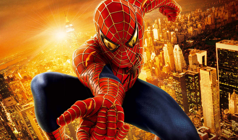 мужчина, паук, spiderman,