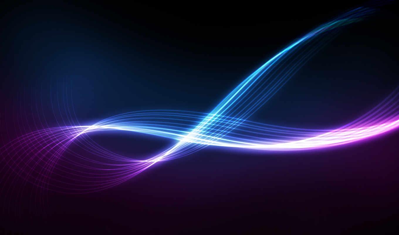 glow, линии, поток, abstract,