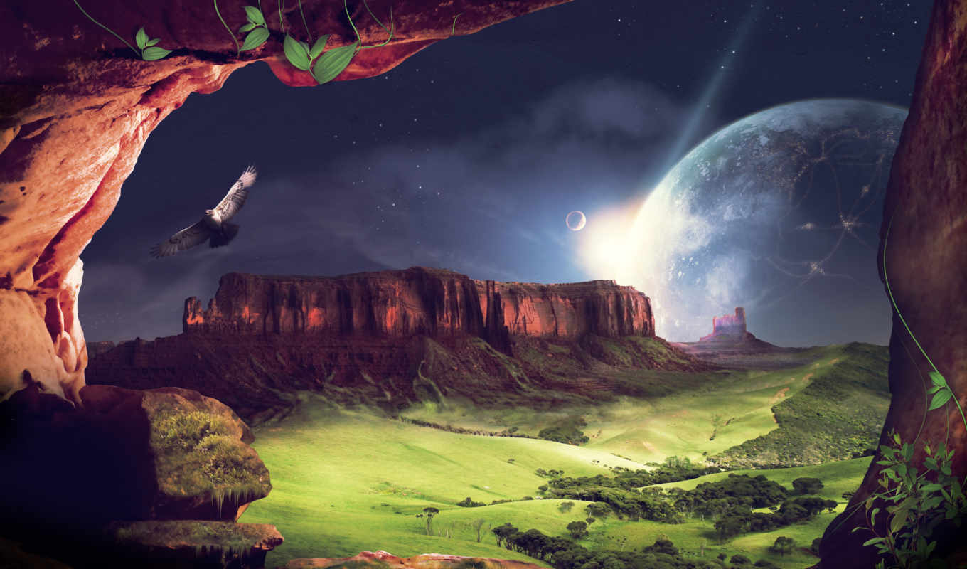 fantasy, landscape, free, have, коллекция, best, desktop,