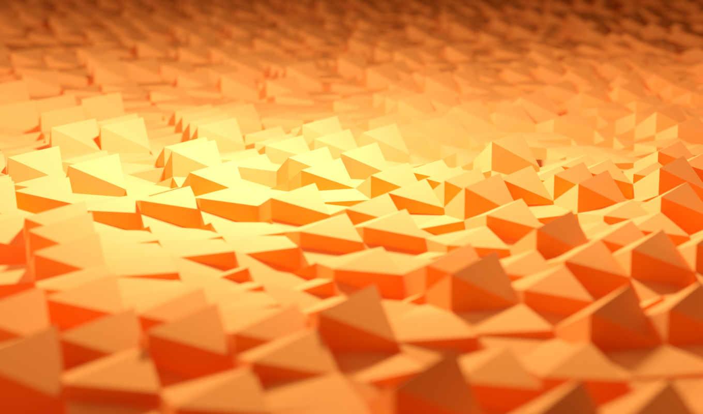 rendering, геометрия, треугольники,