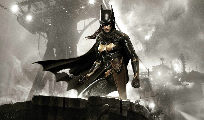 arkham, batman, рыцарь, batgirl, matter, семья, девушка,