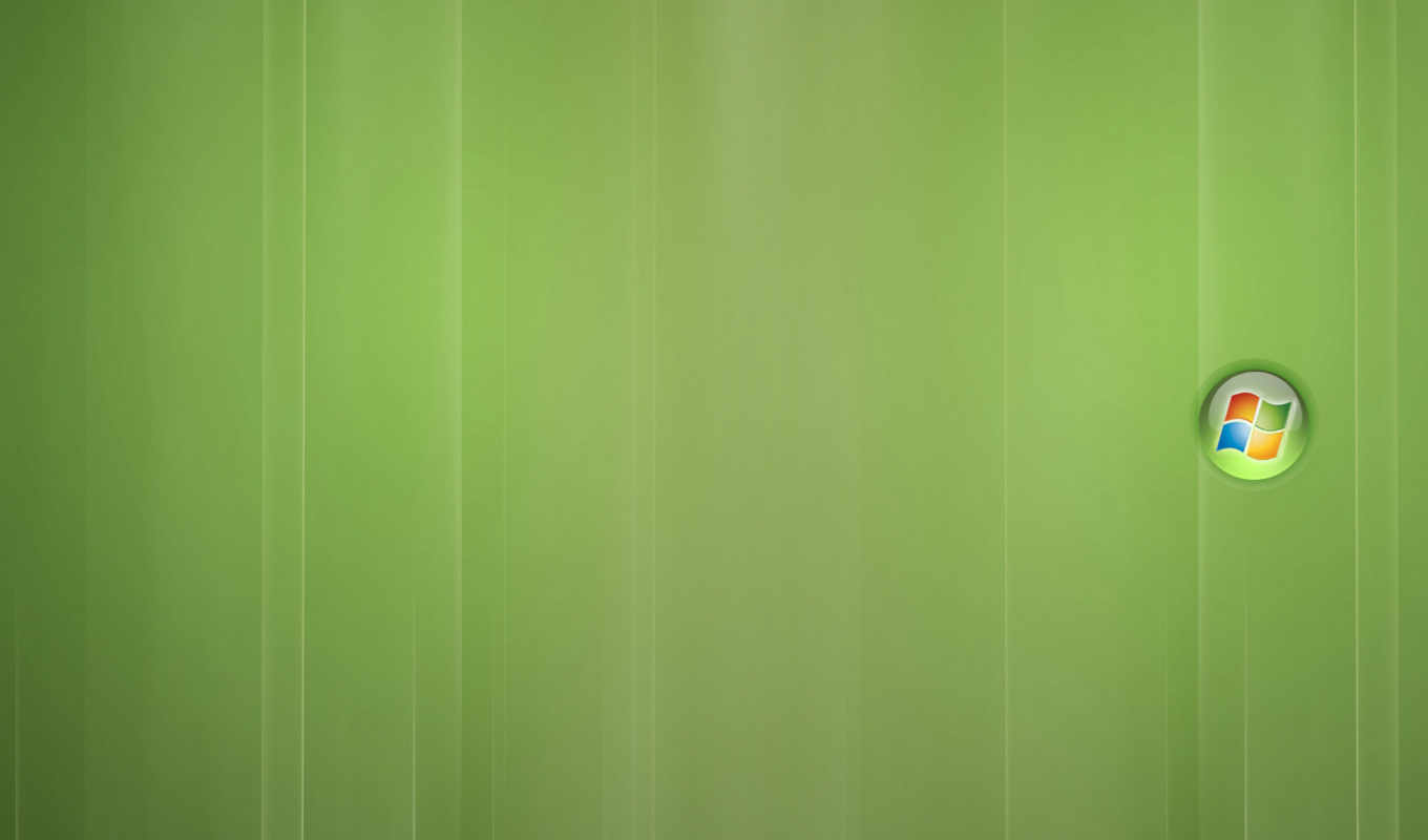 windows, vista, green, background, logo