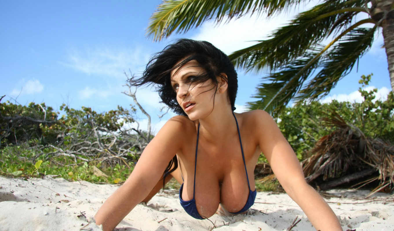 denise, milani, women, sexy, boobs, beach, posts, pack, bikini, models, view, bra, brunettes, with, девушки,