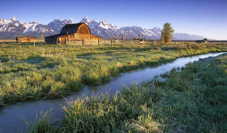 пейзажи -, landscape, природа, горы, небо, девушки, планеты, луга, трава, марта, осень,