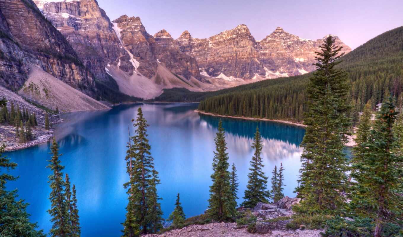 national, озеро, banff, park