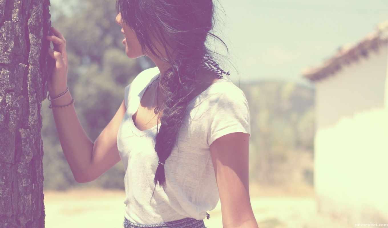девушка, брюнетка, настроения, высоком, базе, качестве, февр,