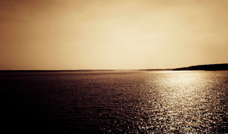 море, water, winter, more, небо, природа, obey,