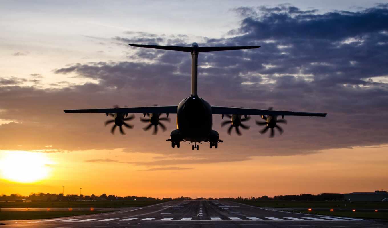 самолёт, военный, транспорт, airport, pantalla, атлас
