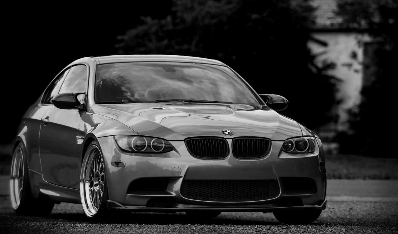 bmw, silvery, серебристый, бмв, купе, тонированный, wheels,